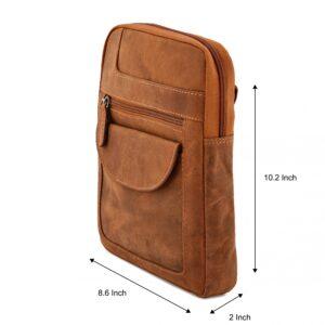 Leather Cross Body Shoulder Bag