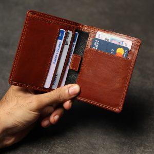 Handmade Leather Wallet – Note Sleeve Version 2